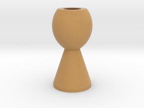 Flower Vase_6 in Full Color Sandstone