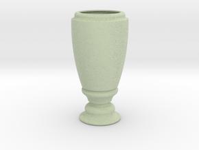 Flower Vase_3 in Full Color Sandstone