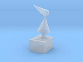 The Silent Princess From Game Monument Valley Ipad in Smooth Fine Detail Plastic