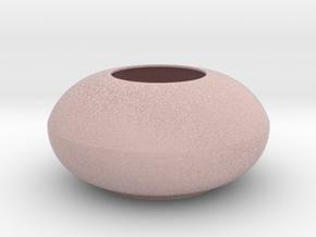IkebanaVase-5 in Full Color Sandstone