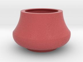 IkebanaVase-7 in Full Color Sandstone