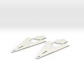 Enforcer Armor 2 in White Natural Versatile Plastic
