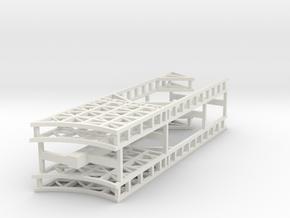 stern front port & starboard in White Natural Versatile Plastic
