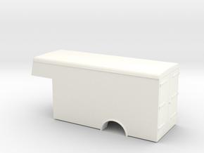 1:43 Bedford Luton Body  in White Processed Versatile Plastic