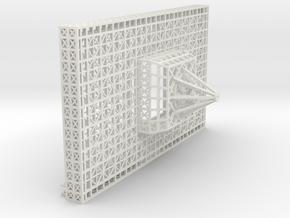 stern lower platform in White Natural Versatile Plastic