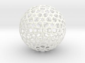 Christmas Tree Bubble in White Processed Versatile Plastic
