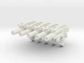 advanced gyrojet 001a suppressed with motion track in White Natural Versatile Plastic