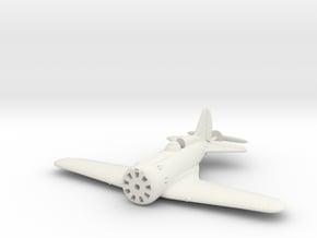 1/144 Polikarpov I-16 in White Natural Versatile Plastic