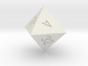 doubling d8 in White Natural Versatile Plastic
