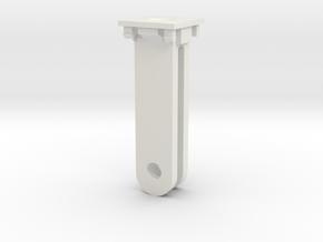 Blade-350QX-Mobius actioncam mount in White Natural Versatile Plastic