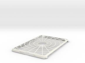 iPad Mini Spider Web Case in White Natural Versatile Plastic