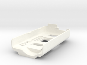 Mobius mounting base for FPV or front gimbal Ver.  in White Processed Versatile Plastic