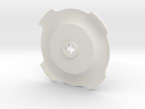 U406 Rimcover Small in White Natural Versatile Plastic