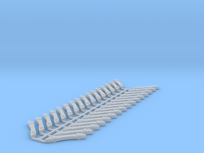 Victorian stick-style roof supports in Smooth Fine Detail Plastic