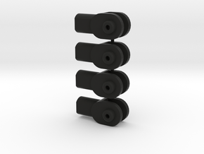 Kyosho TR-15 FT5 (11) x 4 (TESTED) in Black Natural Versatile Plastic