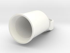 Binder Road 26mm HB in White Processed Versatile Plastic