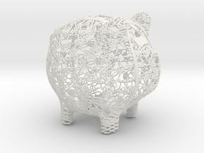 Corse Small in White Natural Versatile Plastic