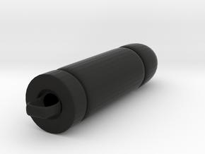 Bullet in Black Natural Versatile Plastic