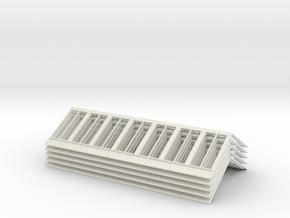 R1 13140 V3 Roof X 5 4mm in White Natural Versatile Plastic
