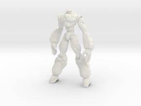 ED12 in White Natural Versatile Plastic