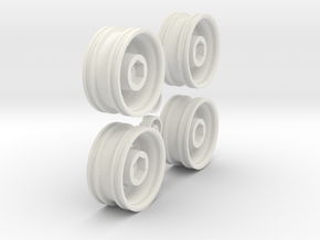 G-MicroWheelForPrint130129-3 in White Natural Versatile Plastic
