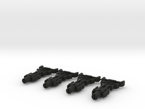 TFP - The Omega Key (4 Keys) in Black Natural Versatile Plastic