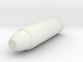 Main Barrel in White Natural Versatile Plastic