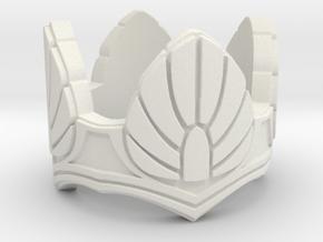 Gray Dawn Ring size 10 in White Natural Versatile Plastic
