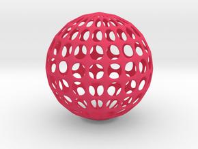 Test Model in Pink Processed Versatile Plastic