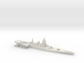 1/1800 MN BC Dunkerque [1940] in White Natural Versatile Plastic