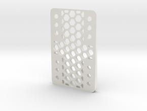 RazorWedge 4 in White Natural Versatile Plastic