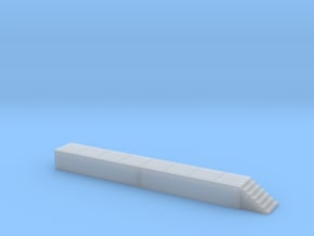 N-Scale Concrete Loading Dock in Smooth Fine Detail Plastic