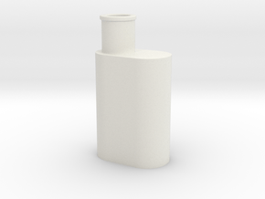 Muffler in White Natural Versatile Plastic