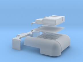 Robot V SAINT Parts in Smooth Fine Detail Plastic