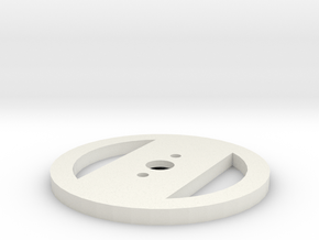 Motorhalterung - Version 3 in White Natural Versatile Plastic