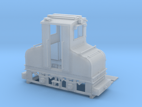 AEG Feldbahn Fahrleitungslok 1:35 in Smooth Fine Detail Plastic