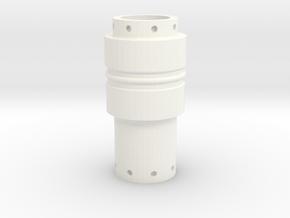 Hypospray Part 2 in White Processed Versatile Plastic