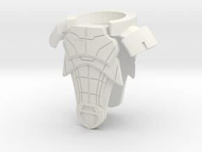 Allied7 Armor in White Natural Versatile Plastic