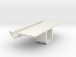 Iphone Wall Stand in White Natural Versatile Plastic
