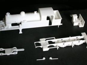 LT & S R 4.4.2 tank locomotive in White Natural Versatile Plastic
