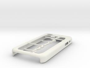 EMG iPhone Case in White Natural Versatile Plastic