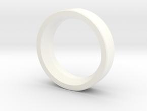 Fiberspar Extension Ring in White Processed Versatile Plastic