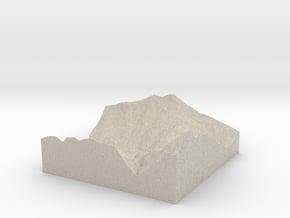 Model of Fuhren in Natural Sandstone
