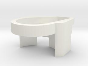 AirGo Spacer (3 of 3) in White Natural Versatile Plastic