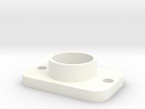 Plaque Debitmetre V2b in White Processed Versatile Plastic