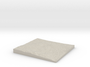 Model of Darrah in Natural Sandstone