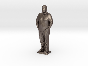 Robert T - Pre Maker Faire Meetup May 2014 in Polished Bronzed Silver Steel