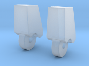 MP-13 Finger 1 Pair in Smooth Fine Detail Plastic