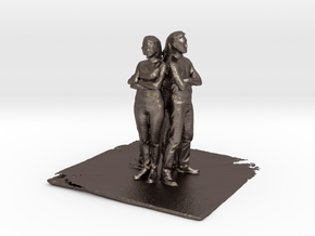 Shapeways Team - Pre Maker Faire Meetup May 2014 in Polished Bronzed Silver Steel
