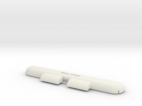 iPad Mini iAmp in White Natural Versatile Plastic